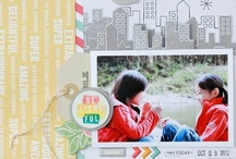 Scrapbooking  / A collection of scrapbooking pages I'm and digging right now / by Elena @ Plan and Play