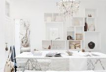 Color Trend: White Hot Rooms / Classic color for easy accessorizing. / by PoshTots
