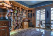 Library and Book Envy / Displayed on shelves, along with other decor and curio, books make a place feel like home.  / by Redfin