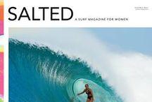 SALTED Magazine / by SURFER Magazine