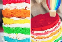 Rainbow / Color / Art Party / by Lindsey - The Fairy Godhostess