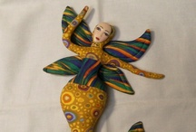 Goddess Dolls / I have always wanted to create goddess dolls.  I have everything I need to create one except the time.  Hopefully I will have some time later this year.  In the meantime I hope you enjoy my selection of wonderful goddess dolls and goddess doll designers. / by Linda Walsh