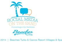 """Beaches Resorts """"Social Media On The Sand"""" Vision Board / My plans and ponderings for #BeachesMoms in Turks & Caicos / by Christie"""
