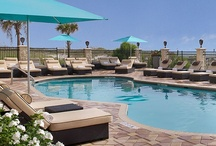 Beachside at One Ocean Resort & Spa / Retreat to this artful getaway in Jacksonville Florida. Situated on the sweeping white sands and rolling waves of the Atlantic Ocean in Atlantic Beach, plan a family vacation or luxurious event at One Ocean Resort & Spa. / by One Ocean Resort & Spa