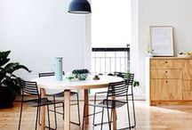 Dining room / by Justine Raffin