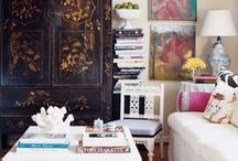 interiors / bold, modern, traditional, eclectic, COLORFUL  / by Caroline Gilbert CurioRaleigh