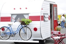 Tiny Trailers, RV's and Glamping. / by Sally Rodriguez