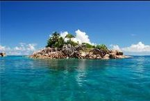 BUCKET LIST  / Four items ticked off so far.... getting olde~better get on with it 'fore my ashes are scattered on the island of St.Pierre, Seychelles / by Kenny Fujinami