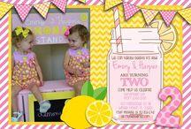 Pink Lemonade Party - Emory & Harper's 2nd Birthday / by Montigne Hassett