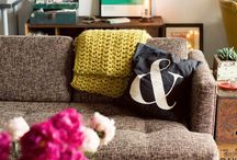 Interior Inspiration / I really think I should have been an interior designer. I can watch hours of HGTV, just love it. Now if I only had enough money to do all of these great ideas! / by Tina Blevins