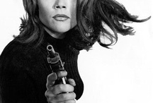 Diana Rigg / The Avengers / by Joseph Oppecker