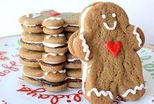 Cookies ~ Gingerbread, Shortbreads & Sugar / by Fleur Jardin