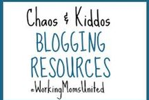 C&K Blogging Resources / Use these blogging resources to streamline your workflow, manage your time and evaluate your strategy. Rejuvenate your blogging passion by identifying your strengths and weaknesses, and applying some simple sales tips to your approach. / by Chaos & Kiddos