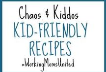C&K Kid-Friendly Recipes / A collection of family-friendly easy recipes that offer tasty, affordable and healthy options for your children. Simple enough for any working mom to tackle after leaving the office, while also getting the kids involved to help in the kitchen. / by Chaos & Kiddos