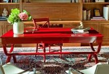 Red Decor / Known for our iconic Red Door, we love red home decor!  / by Elizabeth Arden