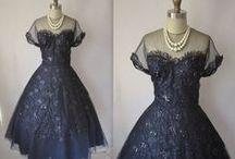 Vintage 50's Dresses / by Pamela Hill