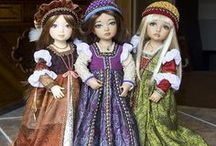 american girl doll renaissance / by Helen Michael