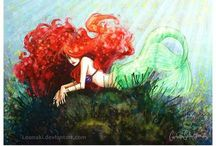 Mermaids   / by Michelle Holsapple
