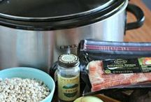 SLOW COOK THIS! / Nothing says 'comfort' like returning home from a long day at work, and the delicious smells of your crock pot greets you as you open the door.  Here are some that I thought looked yummy (and easy) and hoping to try this season.  - Shellie Hart  / by Today's Warm 106.9