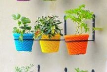 Gardening / by La Mecha Textil