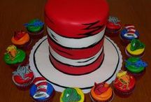 Dr Seuss 1st Birthday Party idea / Dr Seuss birthday ideas. Cakes. Decorations. Colors. Themed parties.   / by Kacie Mitchell