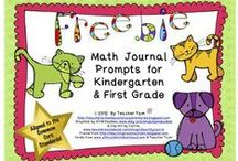 Math Journal Prompts / by Tricia Stohr-Hunt