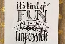 Typography / by Mackenzie Gillett