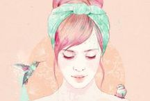 Illustration / by Mackenzie Gillett