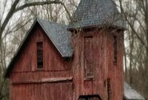 Barns, covered bridges, old churches, windmills / by Jan T