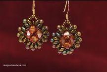 Beaded Earrings / by Diane Marie
