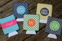 Coozies, Coolers, and Glasses. / Cute coozies, coolers, glasses, tumblers and cups! :) / by Haley Upchurch