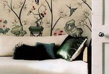 decorating inspiration / Chic and stylish interiors including famous decorators work / by Debby Tenquist