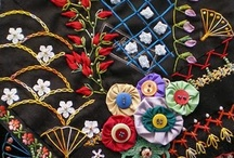 Crewel, Beads, Stitching and Embroidery / by Aida Lopez Fortier