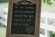 Weddings and Marriage / Wedding ideas and relationship tips.  / by Sandee Jackson