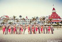 Real Wedding : Sherbet Sunsets / venue{Hotel Del Coronado} florist{Embellishmint} photographer{True Photography} / by Embellishmint Floral + Event Design Studio