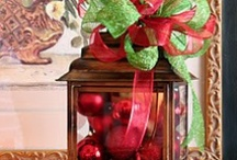 All Things Christmas / Silk Floral Designs if all kinds... Arrangements,Wreaths, Decor, Swags / by Julie Pinakidis-Reece