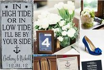 Nautical Nuptials / Nautical Nuptials / by Embellishmint Floral + Event Design Studio