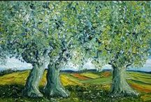 OLIVES / treees, olives, oils etc / by Adrian Kahan Leibowitz