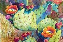 Artist Mary Shepard / Watercolor in all its colorful glory is displayed in her work... / by Jacqueline Brown