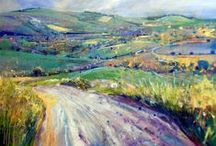 Artist Lorna Holdcroft / Finally another impressionist I LOVE as much as Shirley Trevena! / by Jacqueline Brown