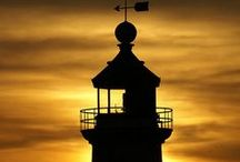 LIGHTHOUSES / by Diane Percival
