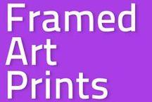 FRAMED ART PRINTS / A selection of my artworks.  / by Süyümbike Güvenç