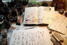 Folk x Atelier / Work spaces we love #atelier #workspace #workshop #design / by We Are Folk .
