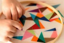 Folk x Kids / Crafty ideas to keep the little ones happy and inspired / by We Are Folk .