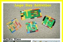Legos / LEGO organization, food, crafts, and builds. / by Dealin and Dishin