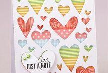 Card-Hearts / by Fayleen Tonkin