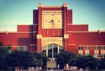 OU's Campus / OU's campus; beautiful by day and night.  / by Oklahoma Sooners