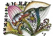 Mental Yoga / ......I LOVE Zentangle..... / by Dawn Rene'