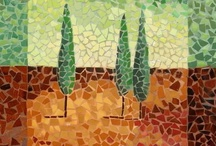Mosaic Magic / The beauty of carefully placed bits... / by Irene Navarra