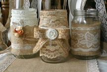 Mason Jars / ***PLEASE BE RESPECTFUL WHEN PINNING***KEEP UR PINNING AT 10 PINS...DO NOT COPY MY BOARDS / by Jennifer Decker